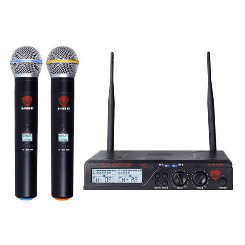 U-2100HT Dual 100-Channel UHF Handheld Wireless Microphone System - (Refurbished)