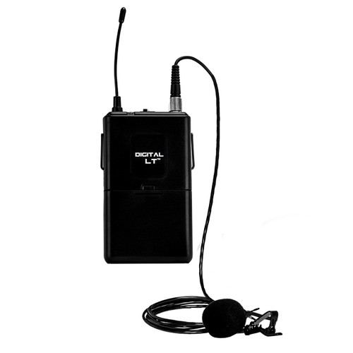 Nady Digital LT Bodypack transmitter with lapel microphone for DW-11/22 systems