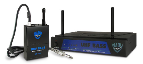 U-33B Wireless Bass Guitar System - NEW