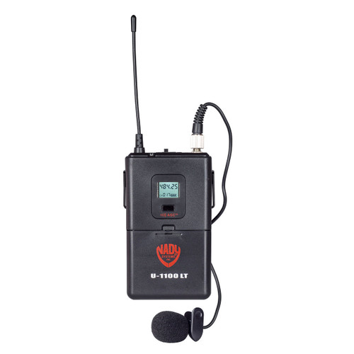 Nady LT-1100 Replacement Wireless Bodypack for U-1100/U-2100 Lapel or Headset systems