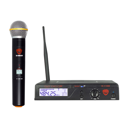 NADY U-1100HT 100-Channel Handheld Wireless System (Refurbished) - FREE SHIPPING