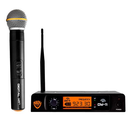 Nady DW-11 Digital Handheld Wireless Microphone System (Refurbished)- FREE SHIPPING