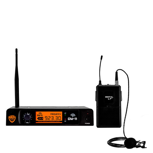 Nady DW-11 Digital Wireless Lapel Microphone System (Refurbished) - FREE SHIPPING