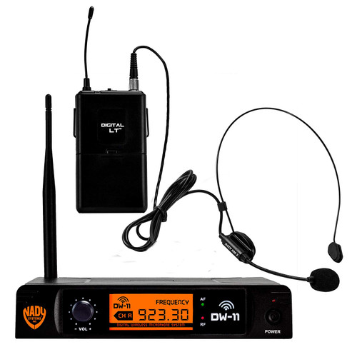 Nady DW-11 Digital Wireless Headset Microphone System  (Refurbished) - FREE SHIPPING