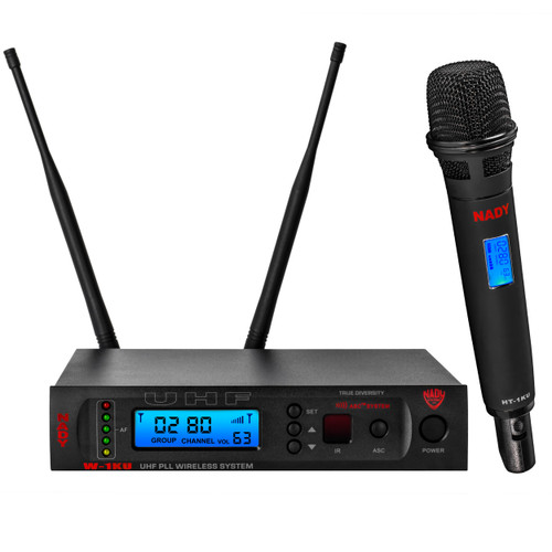 W-1KU-HT - Single Transmitter 1000-Channel UHF Handheld Wireless System - FREE SHIPPING