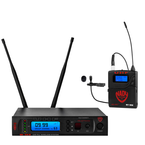 W-1KU-LT - Single Transmitter 1000-Channel UHF Lapel Wireless System - FREE SHIPPING