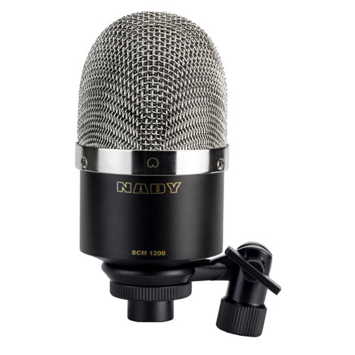Nady SCM 1200 Studio Condenser Microphone - Ideal for recording vocals, acoustic instruments or room ambiance