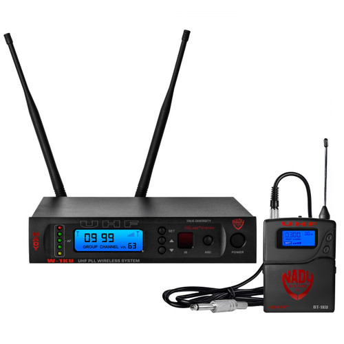 Refurbished W-1KU-GT - Single Transmitter 1000-Channel UHF Guitar/Instrument  Wireless System - FREE SHIPPING