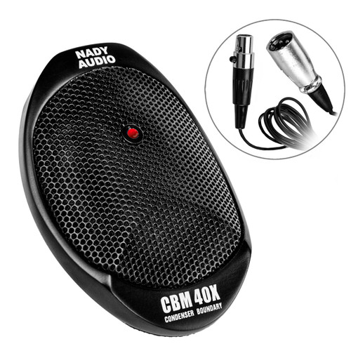 CBM-40X - Condenser Boundary Microphone Full Frequency Response For Recording Performances, Interviews, Courtroom Proceedings, Meetings, Conferences.FREE SHIPPING