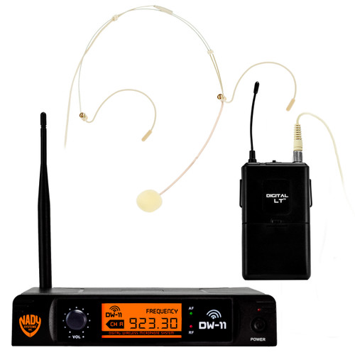 Nady DW-11 HM-10 Digital Wireless Headset Microphone System