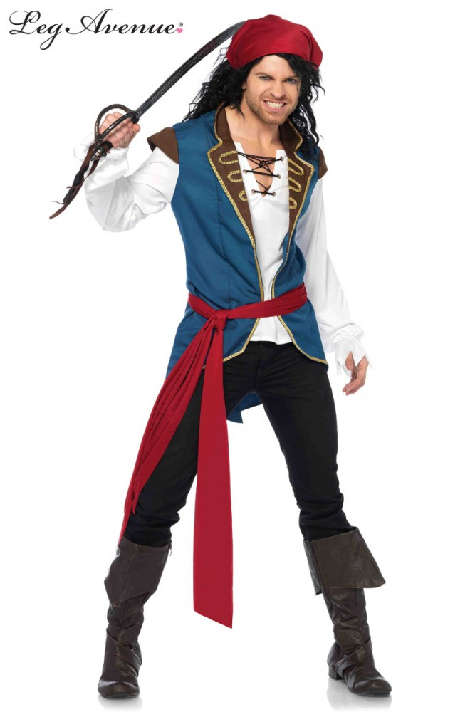 Pirate Scoundrel Mens Costume