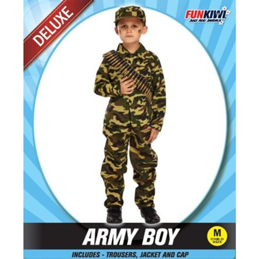 Army Boy Kids Costume