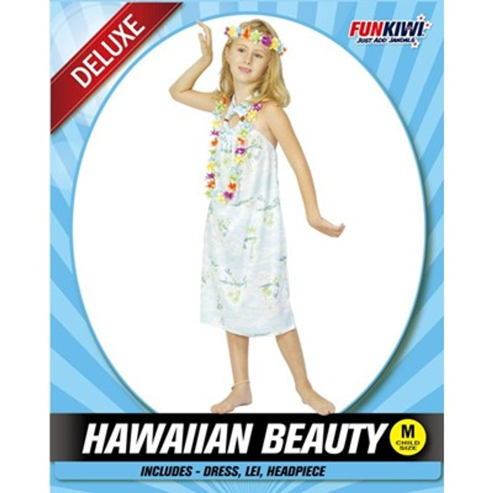 Hawaiian Beauty Girls Costume