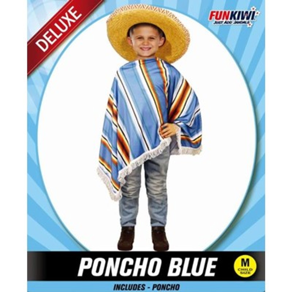 Poncho Childs Costume