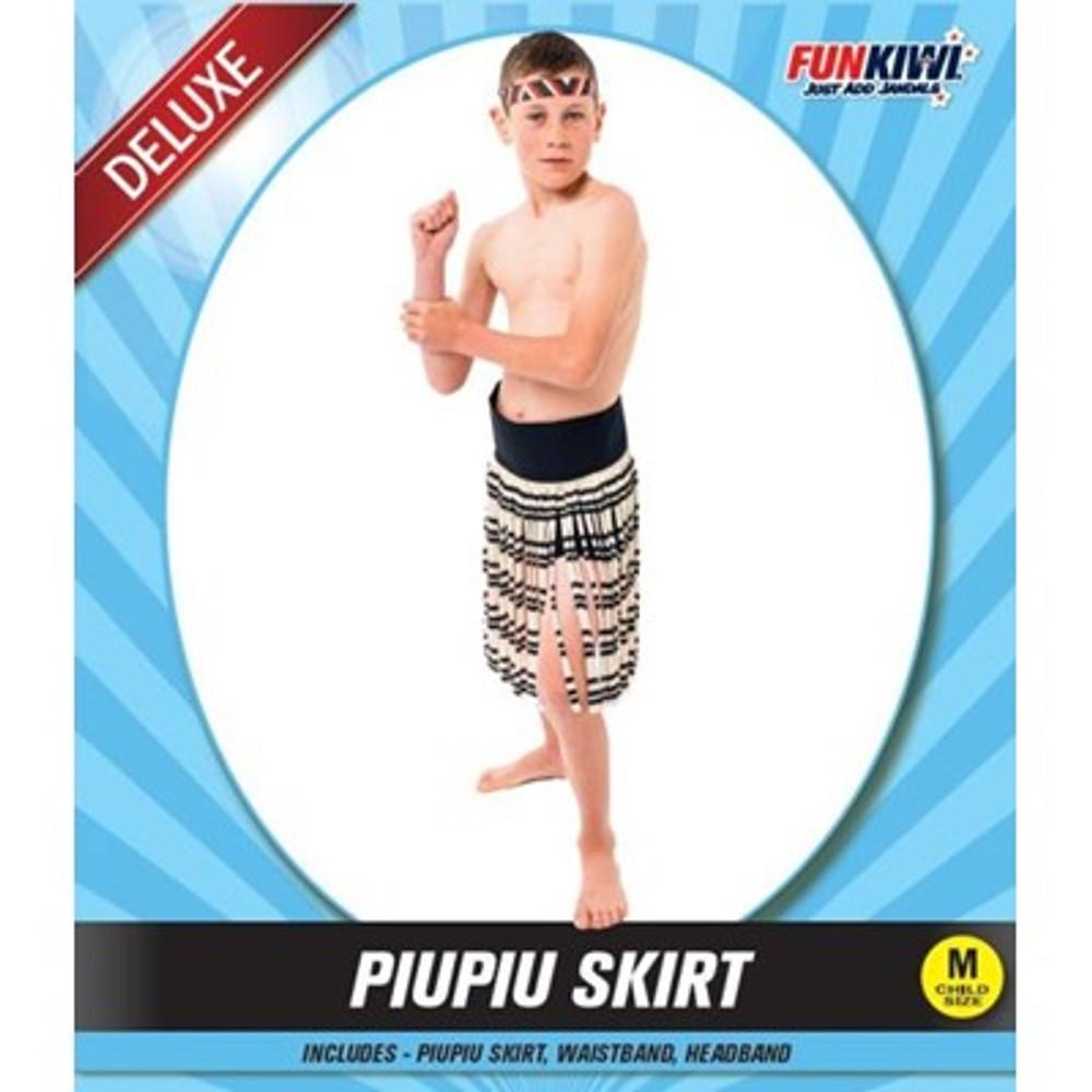 Maori Piupiu Childs Skirt