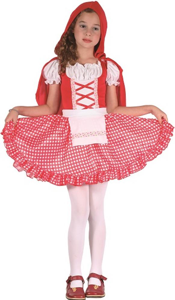 Red Riding Hood Girl Kids Costume