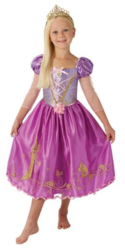 Rapunzel Storyteller Girls Costume