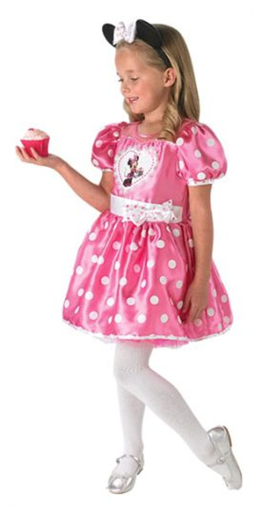 Minnie Mouse Cupcake Pink Girls Costume