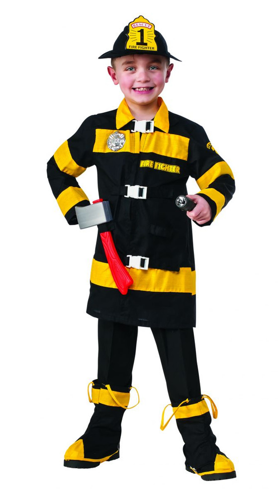 Fire Fighter Boys Costume