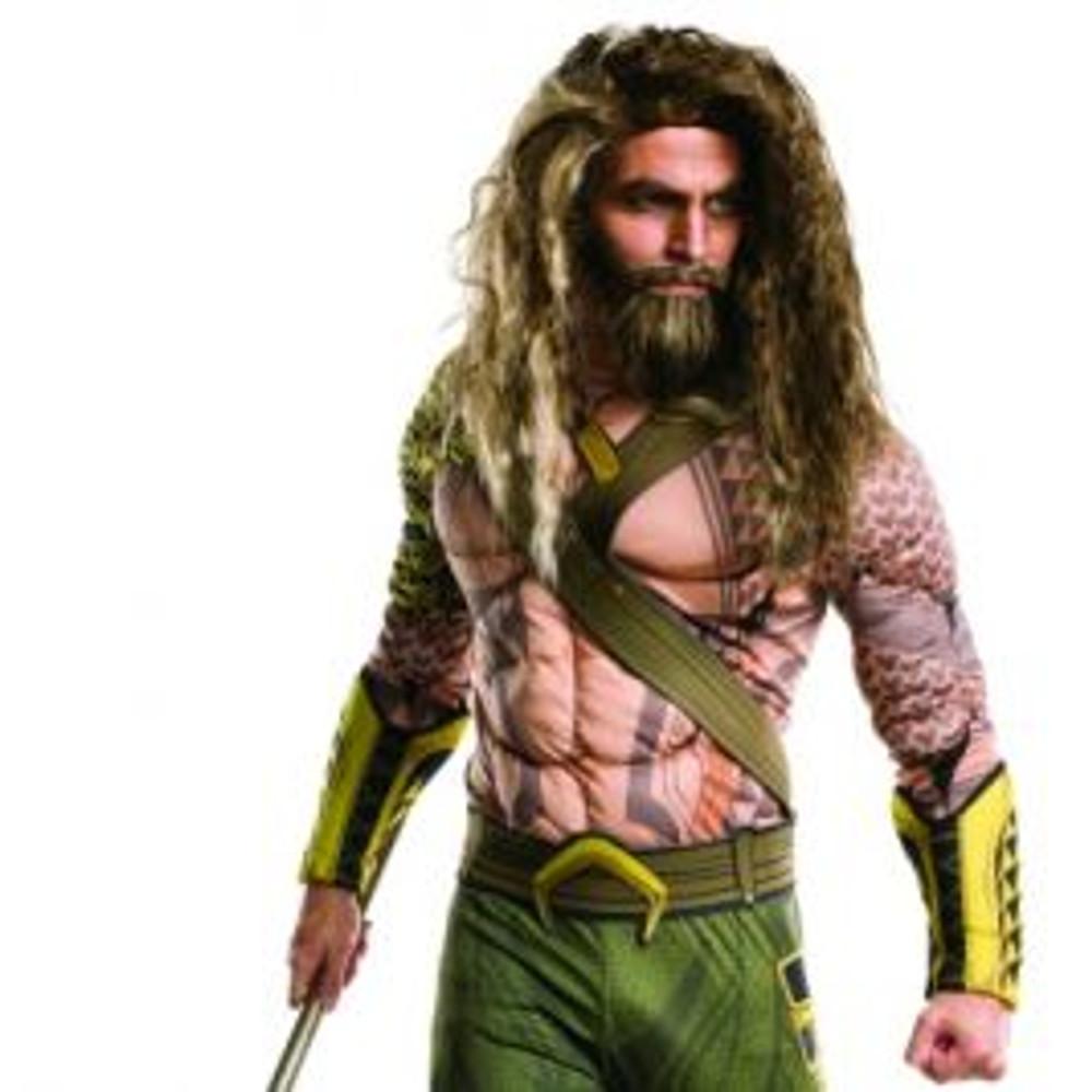 Aquaman Wig & Beard