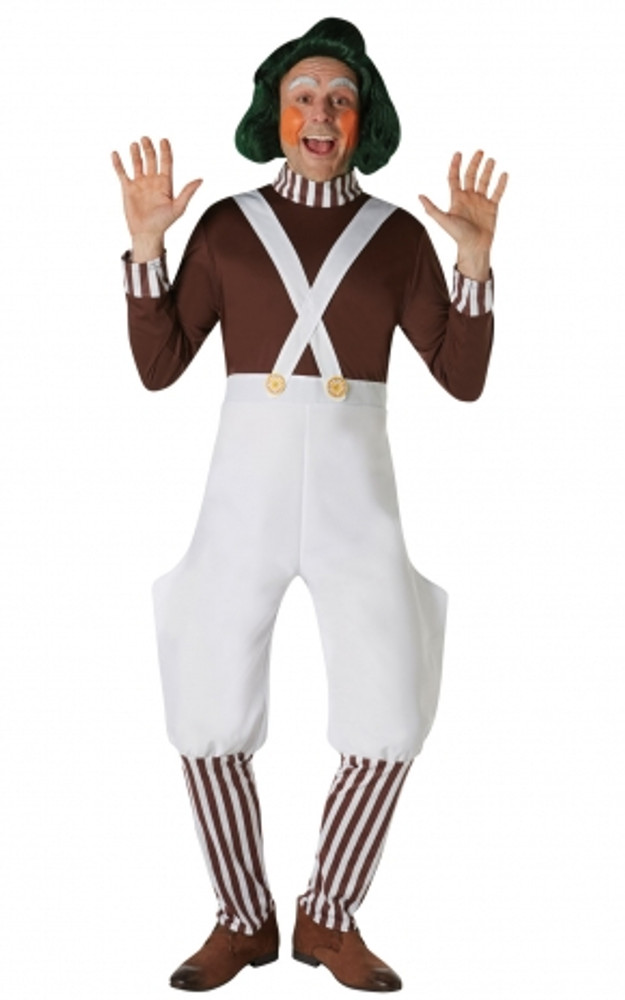 Willy Wonka - Oompa Loompa Adult Costume