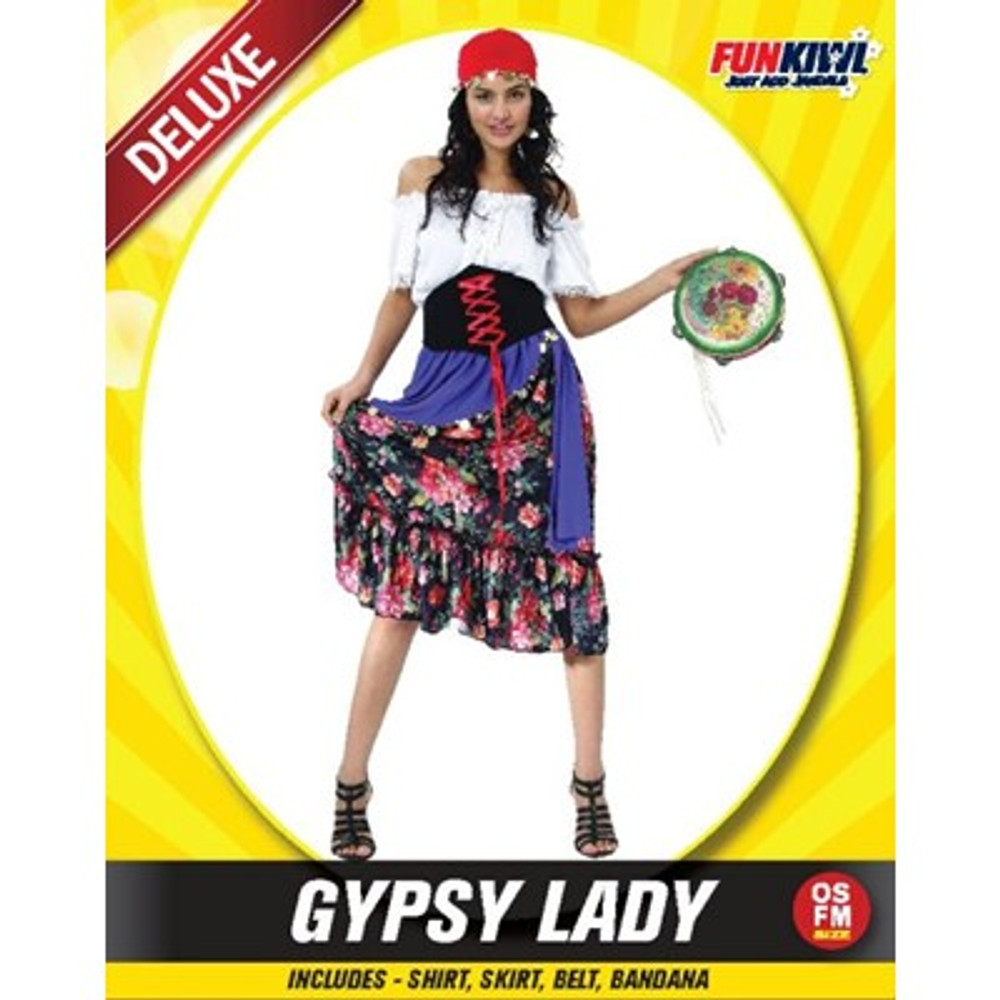 Gypsy Lady Adult Costume