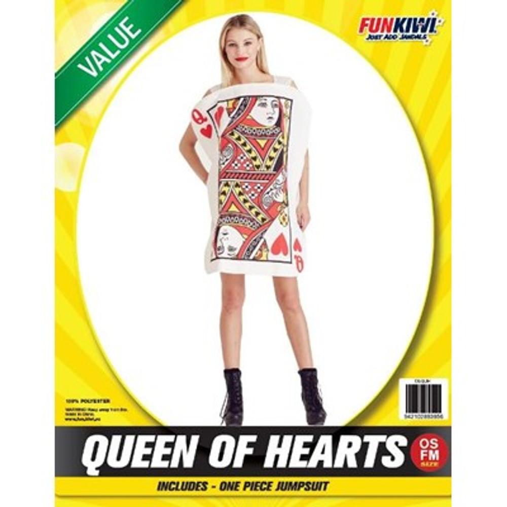 Queen of Hearts Adult Costume