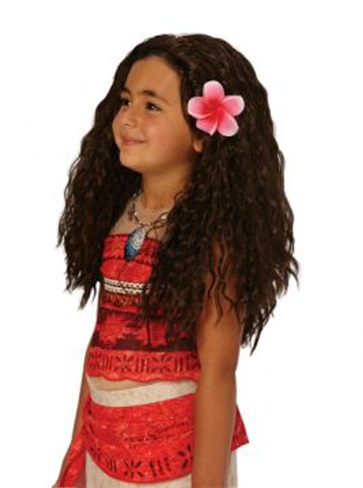 Moana Princess Disney Girls Wig