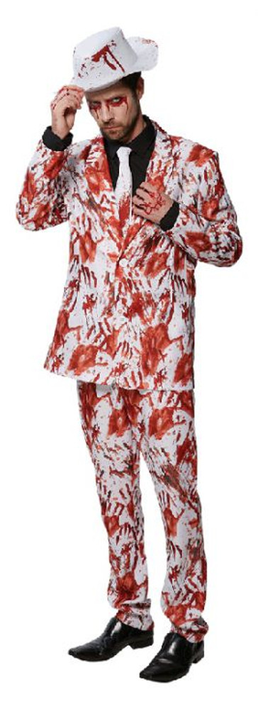 Halloween Bloody Hands Mens Suit