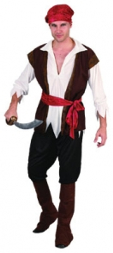 Pirate Man - Adult - Large