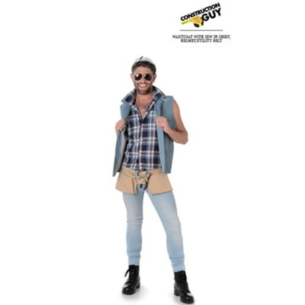 Village People Construction Guy Adult Costume