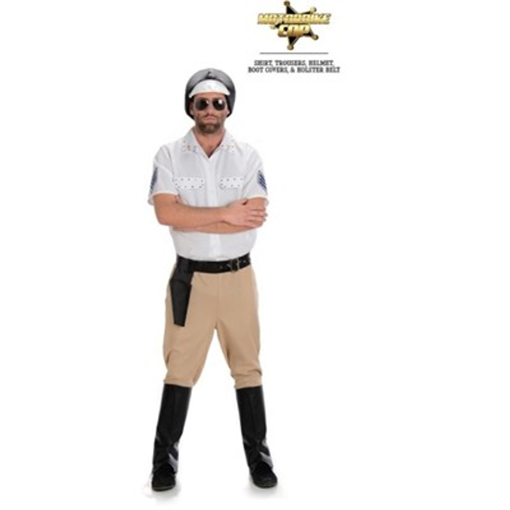 Village People Motor Bike Cop Adult Costume