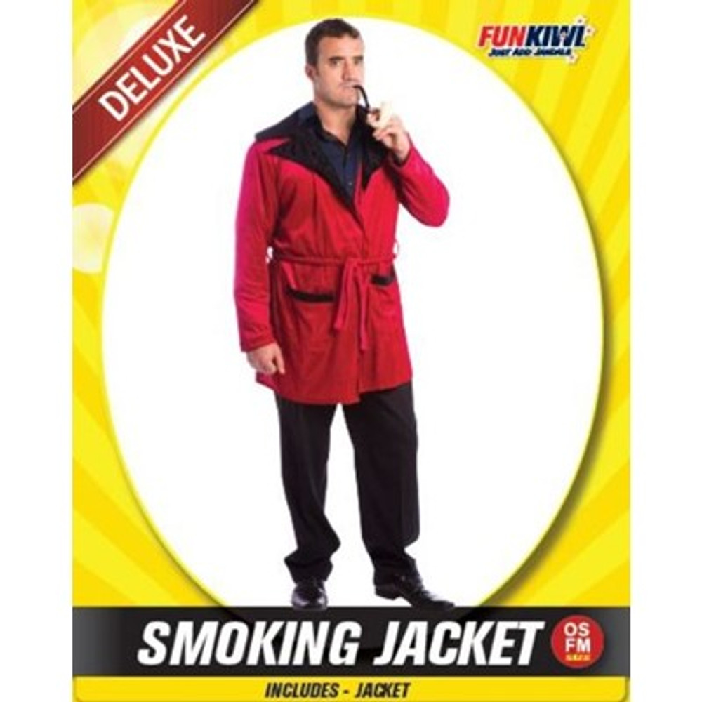 Smoking Jacket  Adult Costume