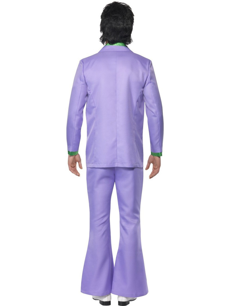1970's Lavender Disco Mens Costume