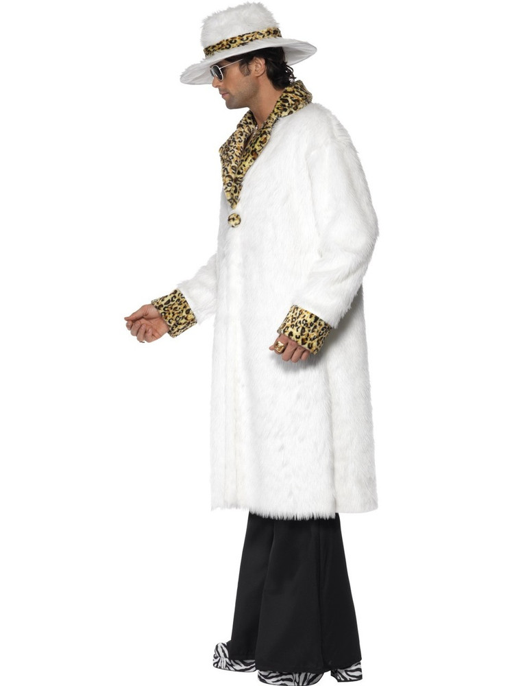 Pimp - White Mens Costume