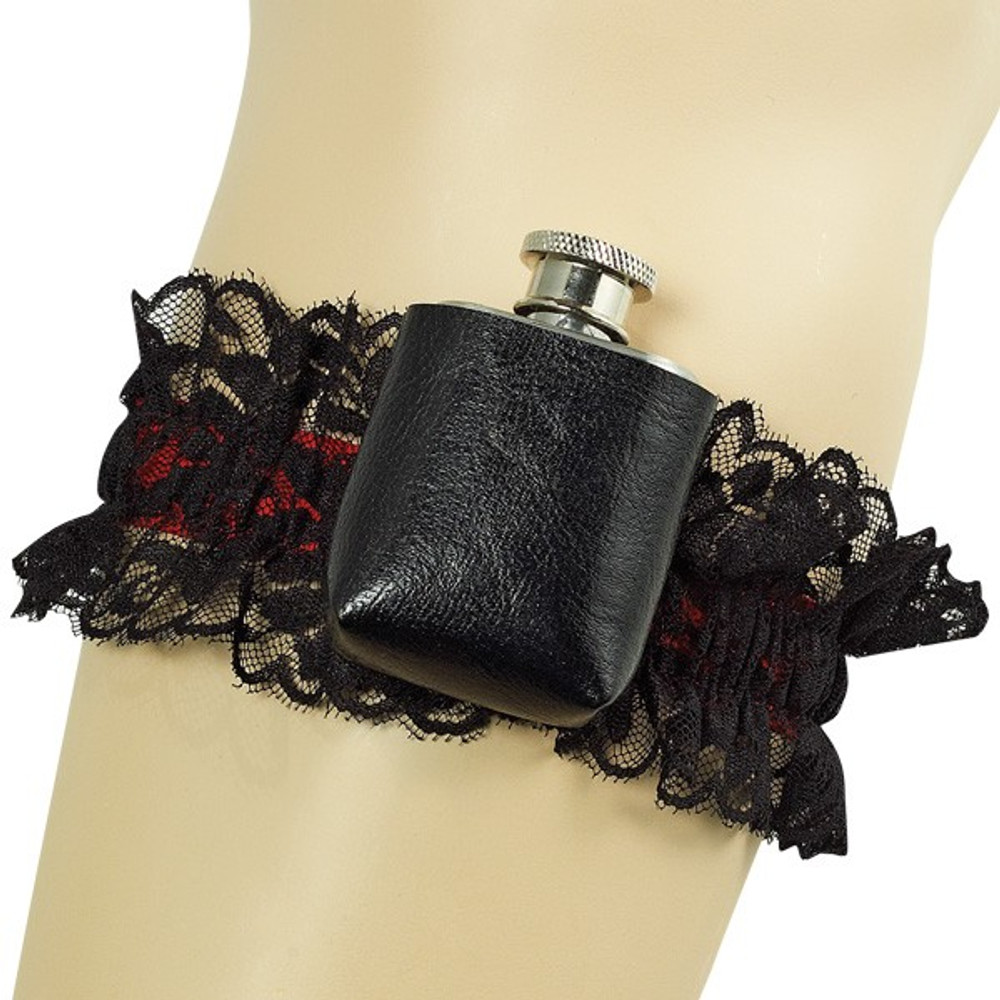 Garter Gangster with Flask