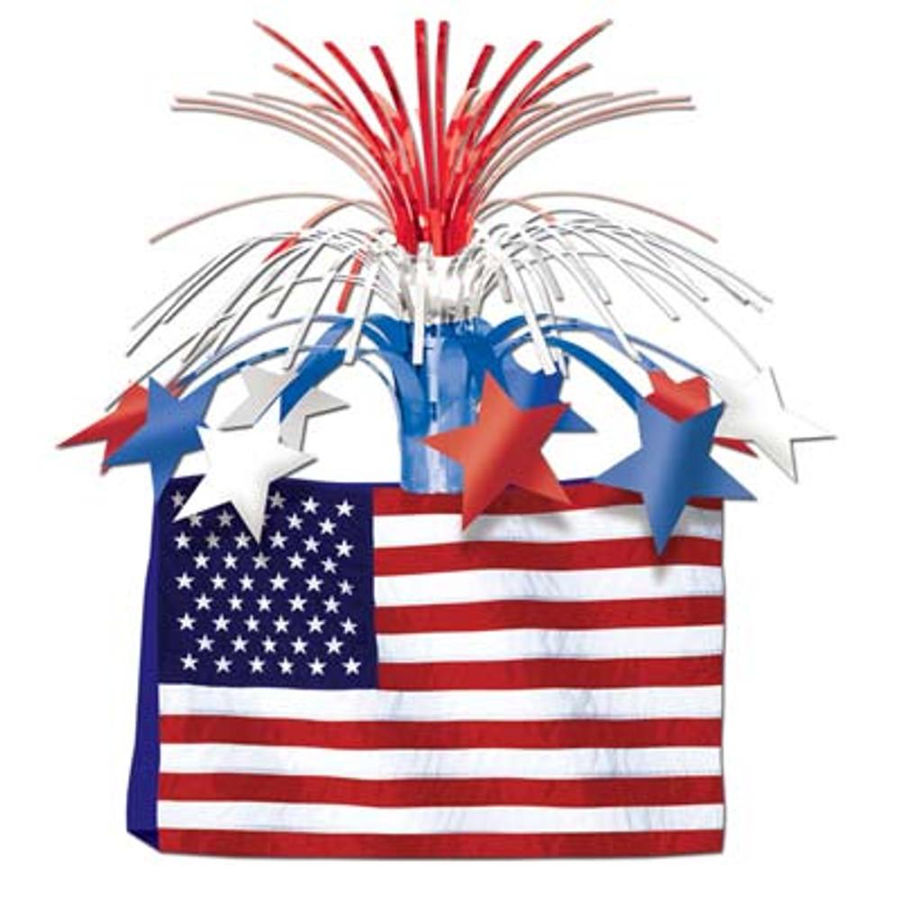 American Flag Centrepiece