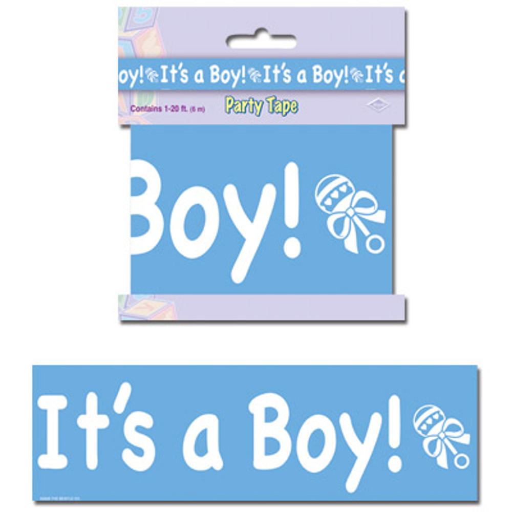 Baby Party Tape - It's A Boy