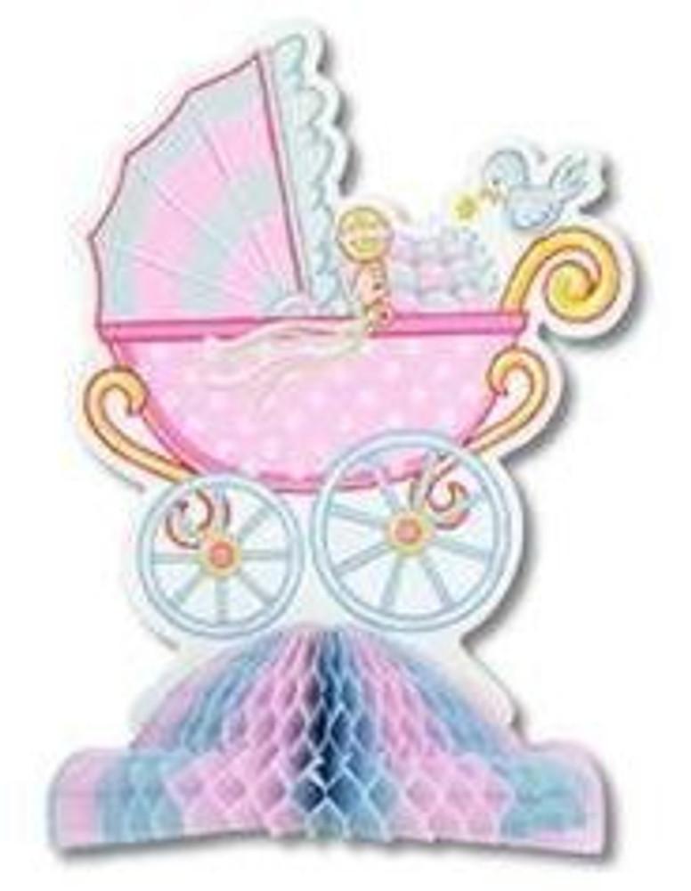 Baby Shower Centrepiece Pram