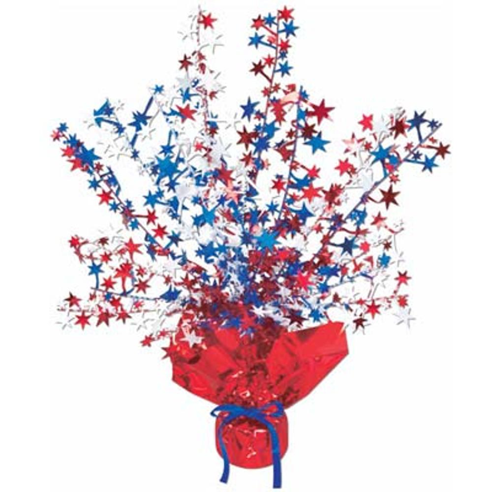 Red White n Blue Patriotic Star Center Piece