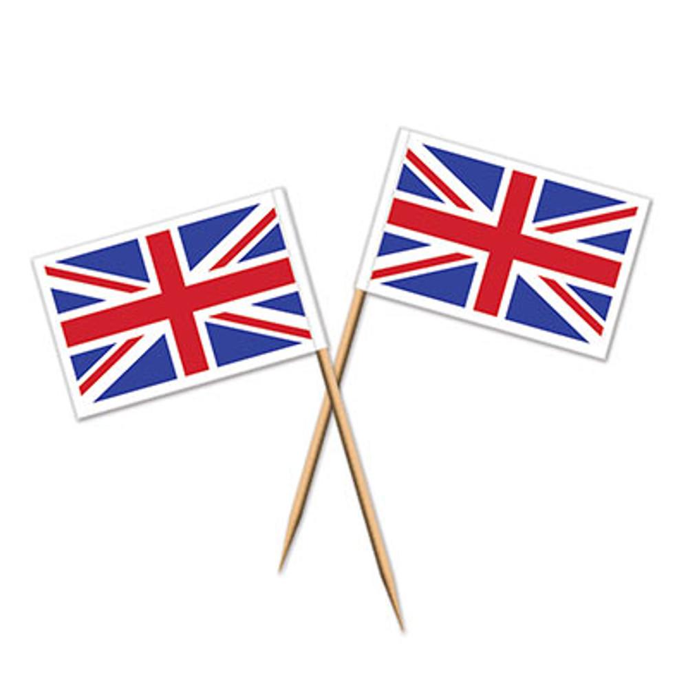 British Union Jack Toothpicks
