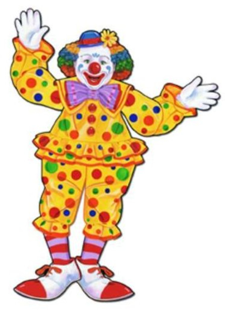 Circus Clown Jointed