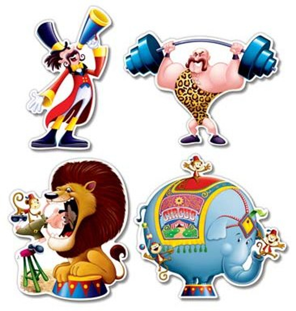 Circus Cut Outs