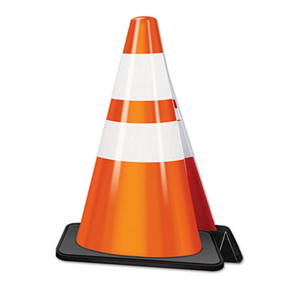 Construction Cone 3D Centrepiece
