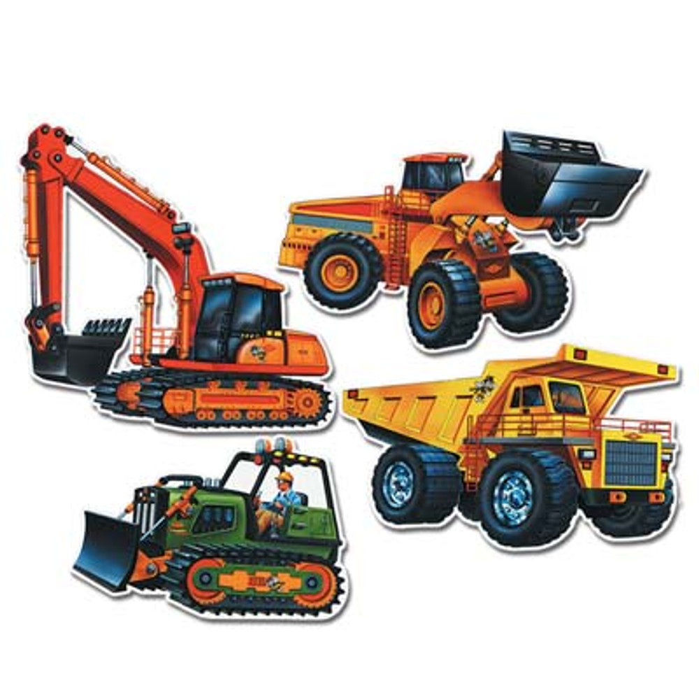 Construction Vehicle Cut Outs