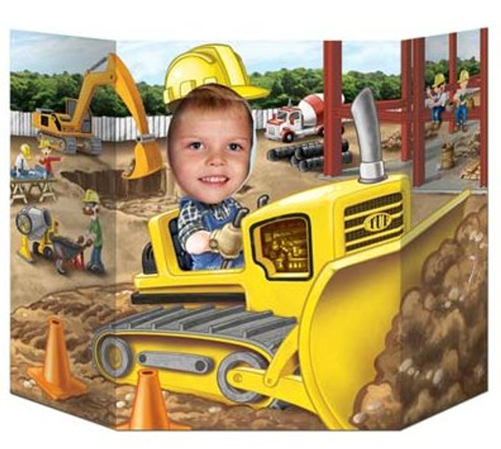 Photo Prop - Construction Site