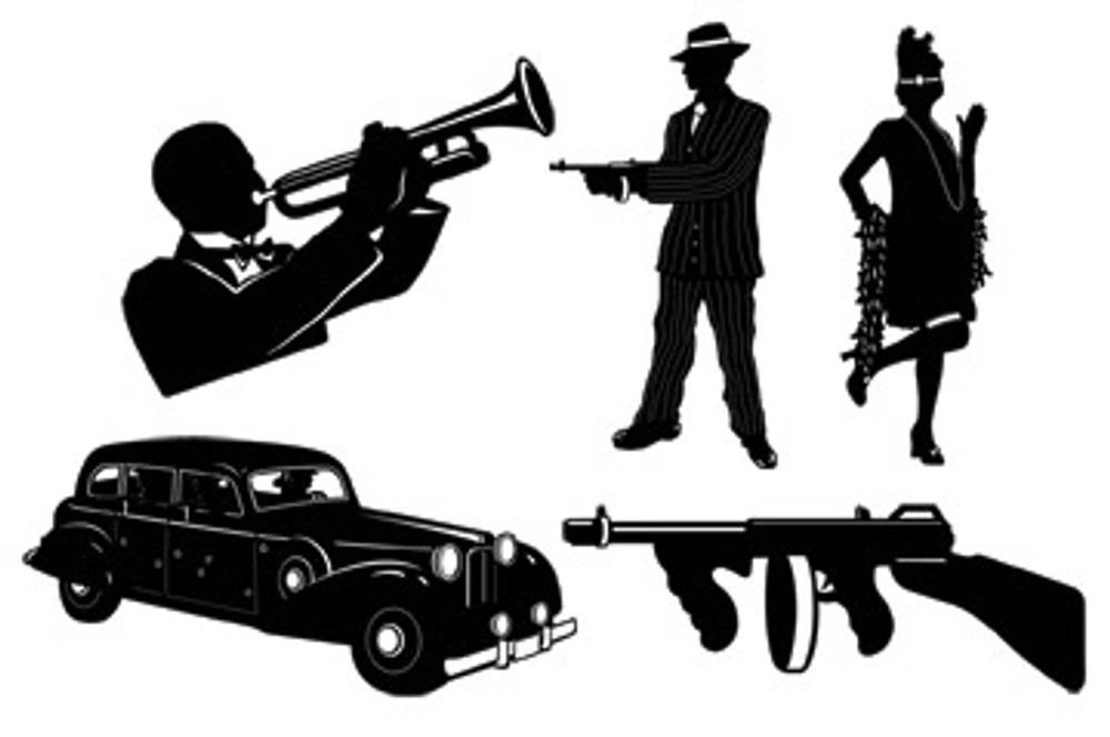 Gangster Silhouettes