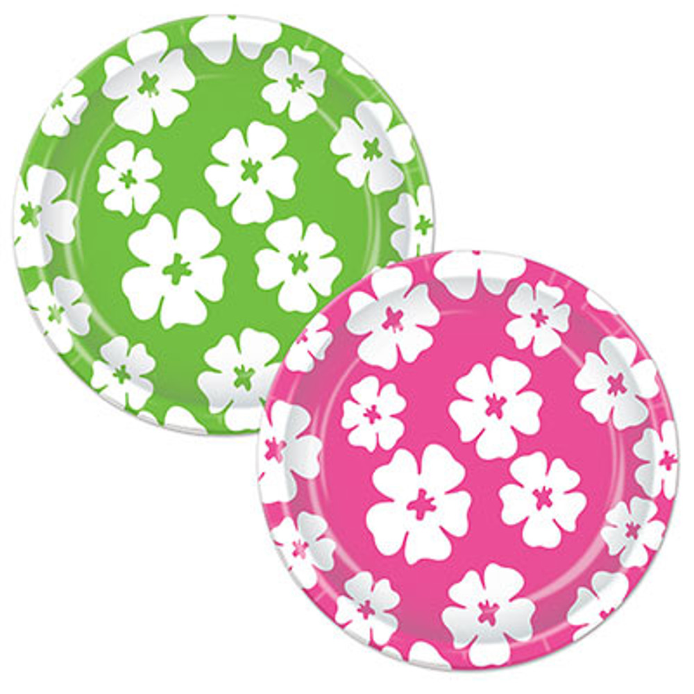 Hibiscus Flower Plates