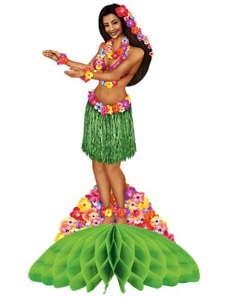 Hula Girl Centrepiece
