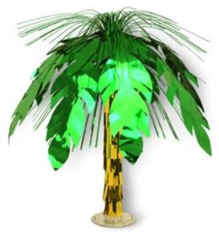 Palm Tree Cascade Centerpiece